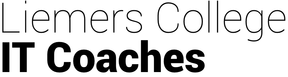 Liemers College IT-coaches Logo